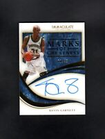 2019 Panini Immaculate KEVIN GARNETT /49 Marks of Greatness NM/MT (OR BETTER)