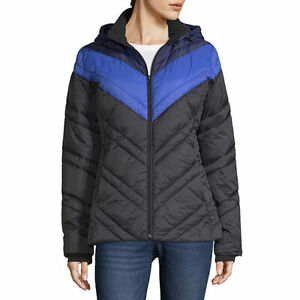 nwt  xersion water resistant  puffer jacket hooded lightweight jacket  xxl