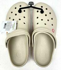 Crocs Crocband Clog/Slip on Casual Water shoes, Stucco/Melon US size(Men11)