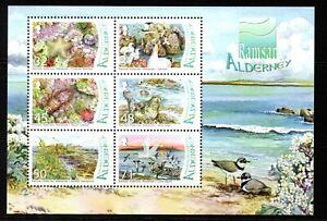 Alderney Stamps 2007 SG MSA315 Burhou Islands and Ransar Site Pairs Mint MNH