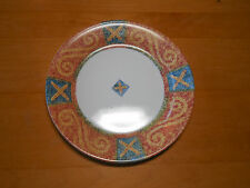 "Corelle SAND ART Salad Plate 7"" Wide Rim Coral Blue 1 ea            25 available"