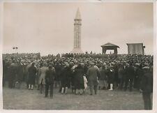 VAUDÉMONT c. 1930 -Inauguration Monument Maurice Barrès Colline de Sion- PRM 378