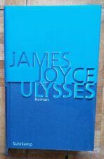 James Joyce, Ulysses. Kommentierte Ausgabe mit Lesebändchen (2004) Suhrkamp