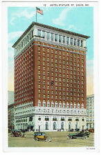 AK US USA Post Card Hotel Statler ST. LOUIS ungelaufen v. 1945