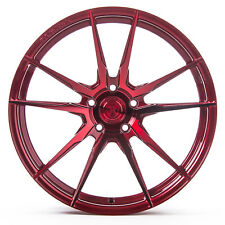 """20"""" Rohana RF2 Gloss Red Concave Wheels for Volkswagen"""