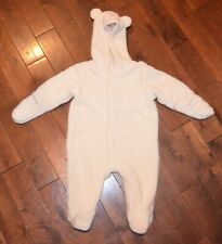 Magnificent Baby Magnetic Me Creme Fleece Bunting Snowsuit 6 Months