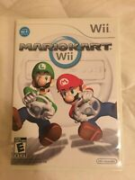 Mario Kart Wii Nintendo Wii Replacement Case Only No Game No Manual