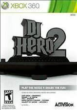 DJ Hero 2  (Xbox 360, 2010) Brand New FACTORY SEALED