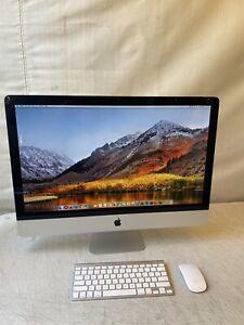 """Apple 27"""" iMac Mid 2011 macOS High Sierra Core i7 3.4Ghz - 16GB  RAM 2TB HD"""
