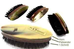 Die Prettiest Beard Brush From Dr.Dittmar Rosewood And Horn Natural Bristles