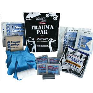 Adventure Medical Trauma Pak W/QuikClot First Aid Kit-2064-0292
