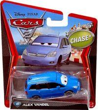 Disney Cars Cars 2 Main Series Alex Vandel Diecast Car