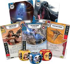 Star Wars Destiny Legacies Rare Set 39/43 Cards & Dice