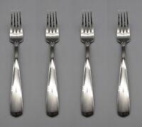 Oneida Stainless Equator Oversize Dinner Forks - Set of Four *