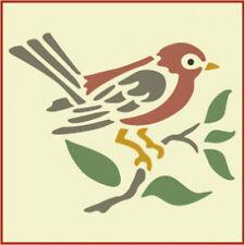 Bird Stencil - Animal Stencils -The Artful Stencil