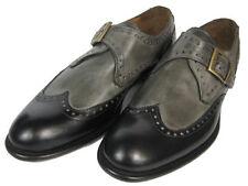 Chaussures habillées grises pour homme, pointure 45