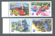 Ireland-Scouts & Scouting mnh set-2002