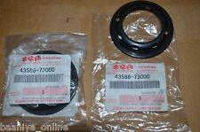 2x Suzuki SJ Samurai Rear Axle Oil Seal Cover Protector 85 86-95 SGP Genuine NEW