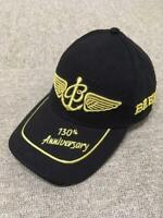 6eb222e3d4e BREITLING Baseball Cap Black 130th Anniversary Not sold in stores New