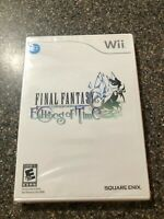 Final Fantasy Crystal Chronicles Echoes of Time (Nintendo Wii) Factory Sealed