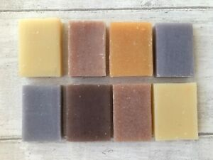 Natural Handmade  Soaps Set Of Eight 20g Off Cuts Amazing Value At Only £6.95