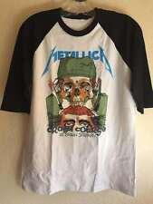 Metallica L T-shirt Thrash metal Anthrax Megadeth Dark angel Metal church Dio