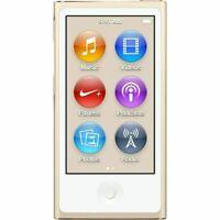 Apple iPod Nano 7th Generation 16GB Gold  MP3 MP4 Player best gift