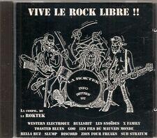 CD COMPIL 12 TITRES--VIVE LE ROCK LIBRE--12 GROUPES DE LA ROKTEK