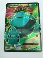 Venusaur EX 141/146 FULL ART ULTRA RARE XY Base Set Pokemon Holo NM-LP 2014