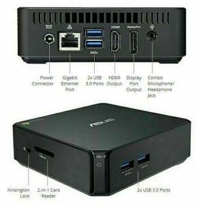 Asus Mini PC (Intel 2955U+2/4GB RAM+Chrome/Win10/LibreElec) FAST SHIP!