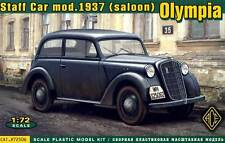 Ace Opel Olympia (saloon) staff Car Model 1937 modelo-kit 1:72 nuevo embalaje original kit