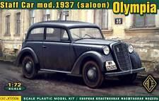 Ace OPEL OLYMPIA (SALOON) Personal Car Modelo 1937 Equipo de construcción 1:72