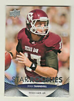 952012 Upper Deck STAR ROOKIES #137 RYAN TANNEHILL RC Rookie Tennessee Titans