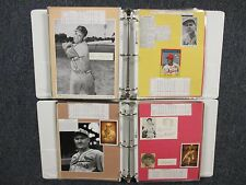 Cardinals(2 Notebooks/228 Pages/100 Autographs/300+ Players/Many Obits/Lou Brock