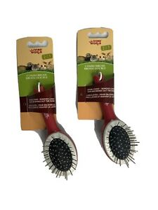 Living World Small Animal Combo Brush,  by Living World (2 pack)
