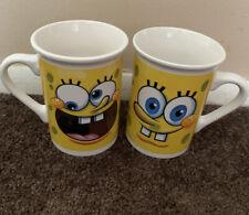 2010 Viacom Sponge Bob Square Pants Coffee Mug / Tea Cup ~ SpongeBob Nickelodeon