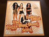 PASSION FRUIT THE RIGGA DING DONG SONG VINYL 12""