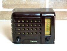 RADIO EMERSON Mod 540 A (Brown) EMERSONETTE 1946 WAIMEA PLASKON VINTAGE VALVOLE