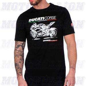 Ducati Corse Panigale Moto GP Official T Shirt Authentic 1299 1199 999 959 S R