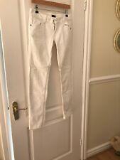 White Skinny Jeans Miss Selfridge Size 10R