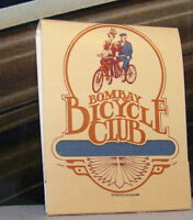 Rare Vintage Matchbook Bombay Bicycle Club Los Angeles California Colorful Art