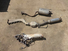 1999 - 2005 GENUINE LEXUS IS200 COMPLETE EXHAUST SYSTEM 4 SECTIONS WITH CATS