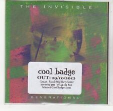 (DL701) The Invisible, Generational - 2012 DJ CD