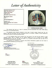 Ryan Lochte Hand Signed Speedo Swim Cap Exact Proof JSA LOA 5 Gold Medals