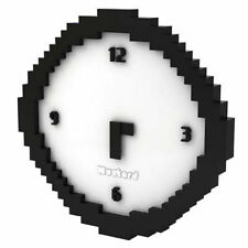 Funky Pixel Art Wall Clock | Geeks Clock | Cool Unique Gift