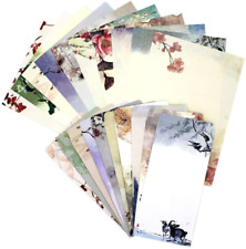 Stationary Paper Envelopes Set 60PCS Stationary Set(40 Papers + 20 Envelopes)