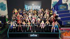 WWE Womens Evolution Custom Made Wrestling Figure Display No Figs Included