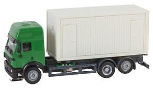 "Faller Car System H0 161480 ""LKW MB SK'94 Baucontainer (HERPA)"" Neu"