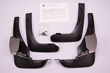 NEW OEM NISSAN MURANO CROSSCABRIOLET TAN / BLACK SPLASH GUARD SET F38E0-1GR0A