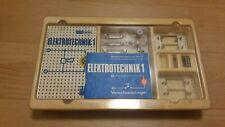 Polytronic Elektrotechnik 1 Baukasten DDR Spielzeug inkl. anleitung Elektonik